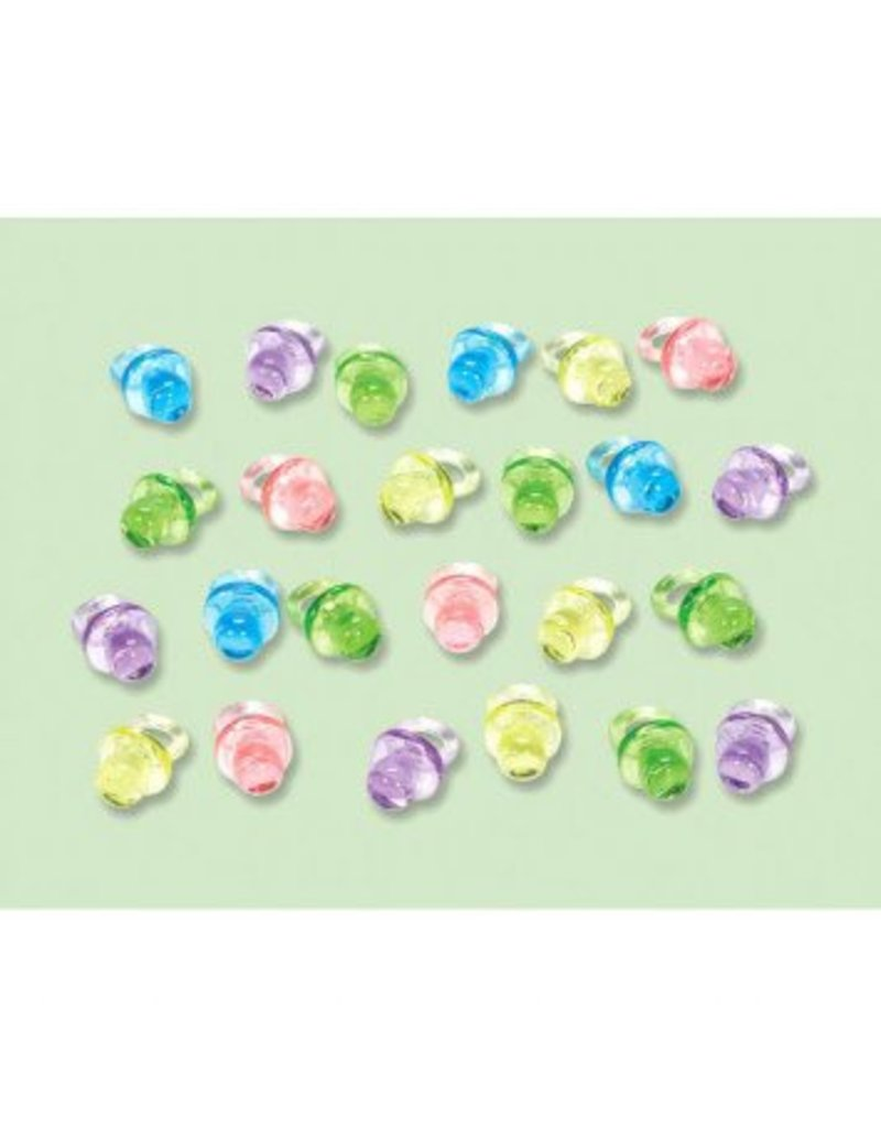 Baby Shower Mini Pacifiers - Neutral (24)
