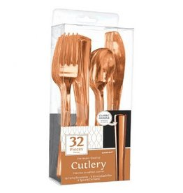 Premium Cutlery Assorted Rose Gold (32)