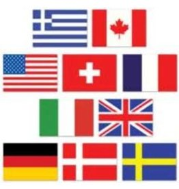 Mini International Flags (10)