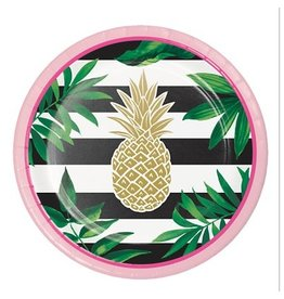 Pineapple Wedding Dessert Plates (8)