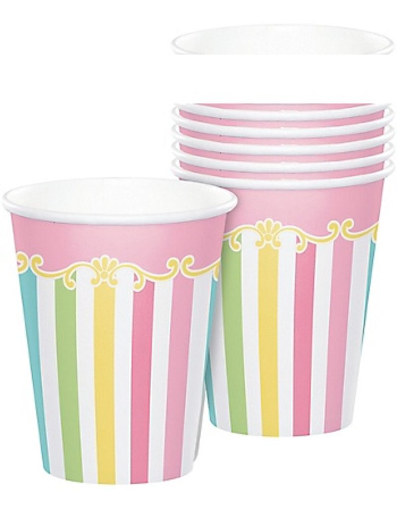 Carousel 9oz Cups (8)