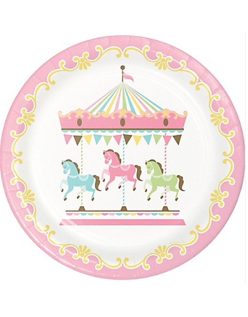 Carousel Lunch Plate (8)