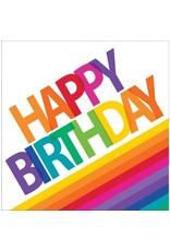 Rainbow Happy Birthday Lunch Napkins (16)