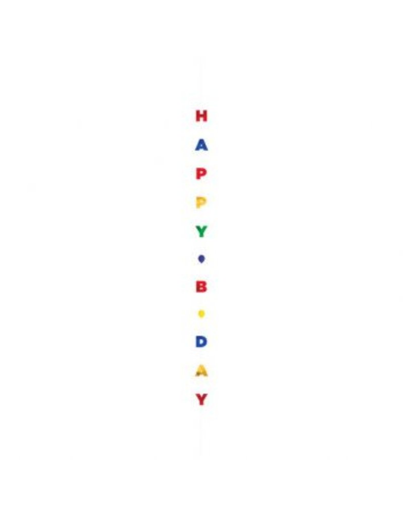 Balloon Fun Strings - Happy Birthday Letters, Primary