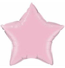 "Pearl Pink Star 20"" Mylar Balloon"