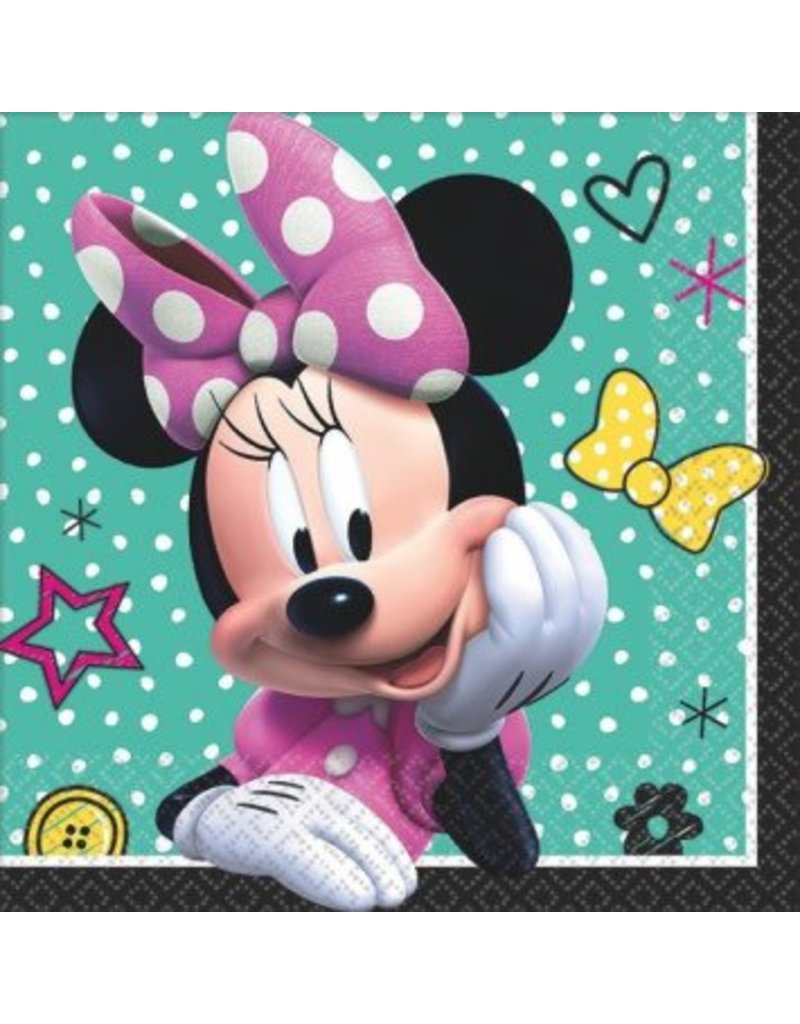 Disney Minnie Mouse Happy Helpers Beverage Napkin (16)