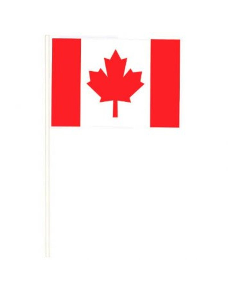 """Canada Day Flags (4) 4""""x6"""""""
