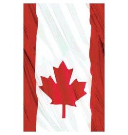 Waving Flag Plastic Table Cover