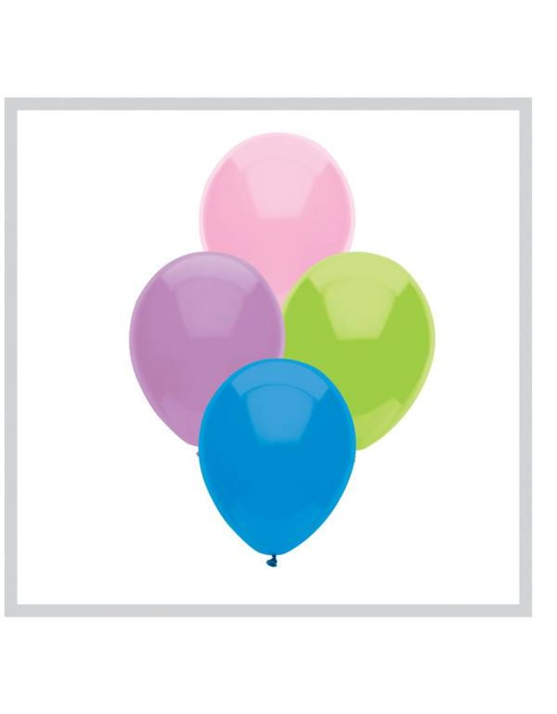 Funsational Pastel Assortment Balloons (50)