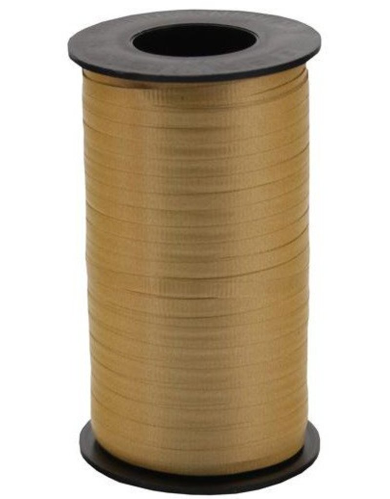 Holiday Gold Curling Ribbon 500yds