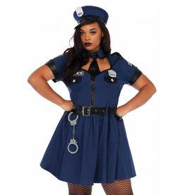 Women's Costume Flirty Cop 3X/4X