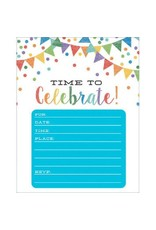 Pennant Party Invitations Value Pack (20)