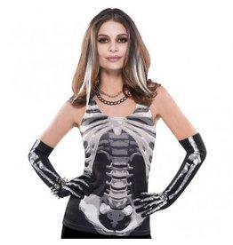 Black & Bone Skeleton Tank Top