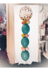 Balloon Tower ($12.00 plus cost of Mylar Balloon)