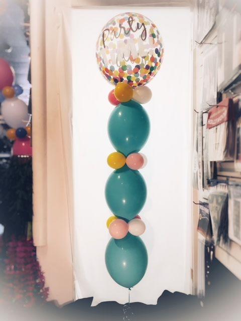 Balloon Tower (plus cost of Mylar Balloon)