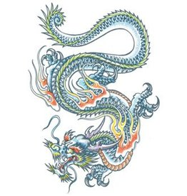 Extra Large Fx Dragon Tattoo