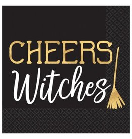 Cheers Witches Beverage Napkins (16)