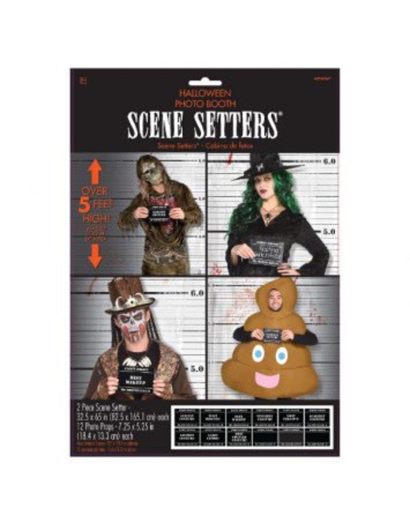 Costume Line Up Scene Setters® w/ Props