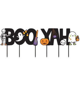 Halloween Boo-Yah! Yard Signs