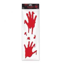 Asylum Bloody Hands Long Gel Clings