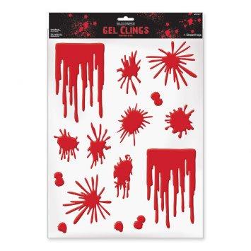 Blood Splats & Drip Gel Clings