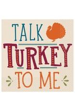 Talk Turkey To Me Beverage Napkins (16)