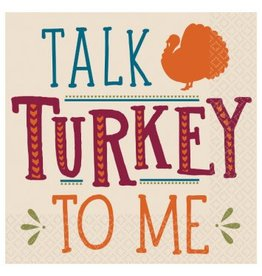 Talk Turkey To Me Beverage Napkins (16)