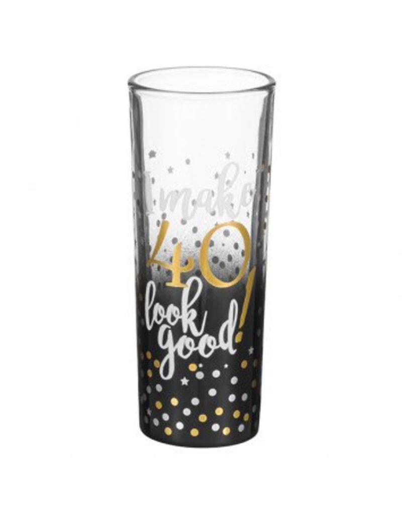 """""""40"""" Shot Glass"""