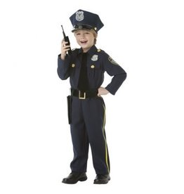 Children's Costume Police Officer Small (4-6)