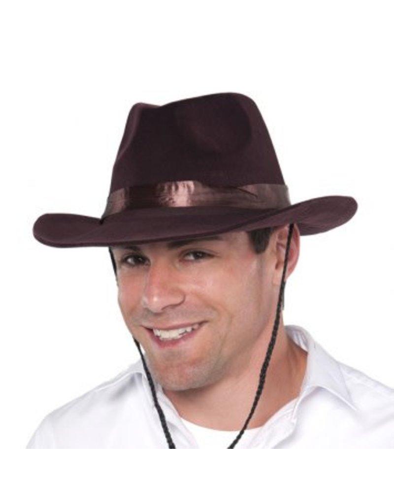 Flocked Cowboy Hat