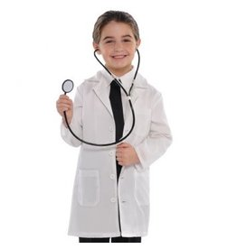 Doctor Coat (Child Size) Small
