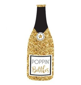 Jumbo Bubbly Bottle Photo Prop