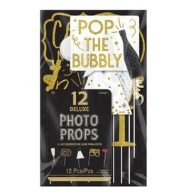 New Year's Honeycomb Photo Props Kit