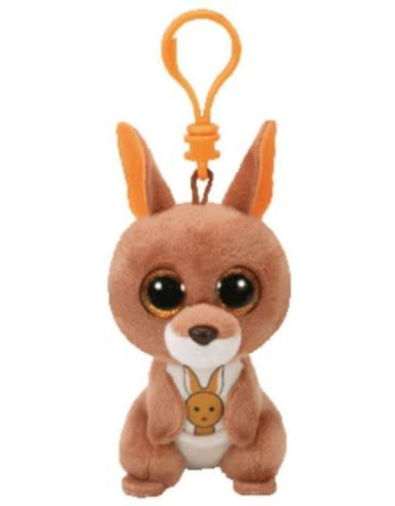 Beanie Boos Kangeroo Kipper Keychain