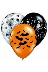 "11"" Spooky Balloon Uninflated"