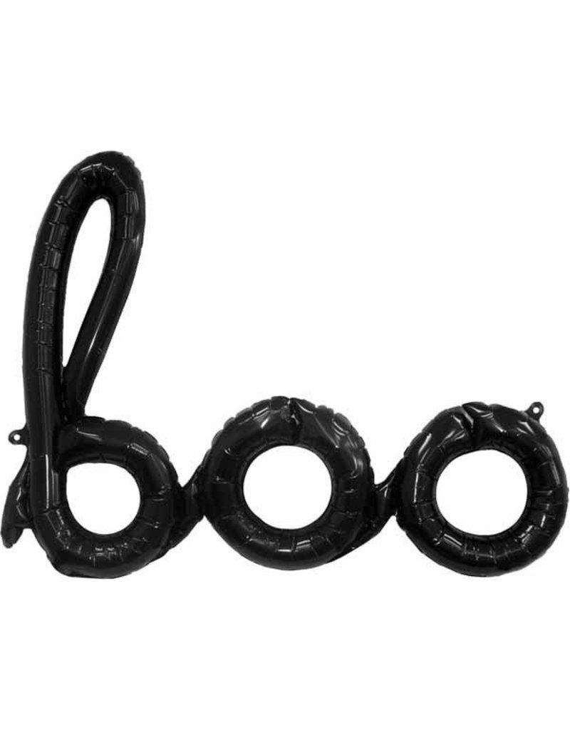 BOO Script Air-Filled Balloon (Will Not Float)