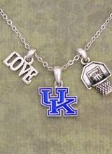 AccessHERize Kentucky Wildcats Slam Dunk Necklace