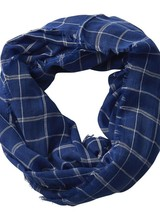 Tickled Pink Lightweight Gameday Plaid Infinity Scarf