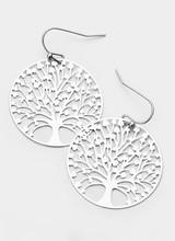 AccessHERize Tree of Life Hook Earrings