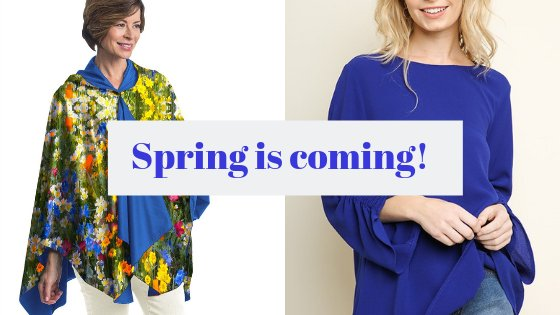 Get Ready for Spring Weather...Rain or Shine!