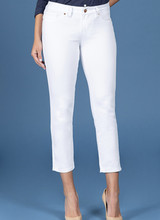 AccessHERize Women's White Ankle Length Jeans