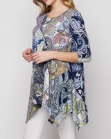 AccessHERize Pauline Mixed Floral Top