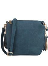 AccessHERize Side Zip Concealed Carry Bag Indigo