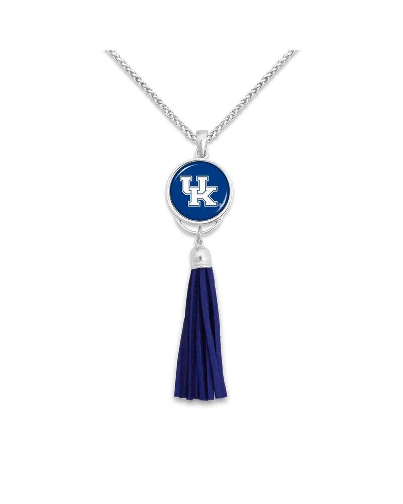AccessHERize UK Wildcats Long Tassel Necklace