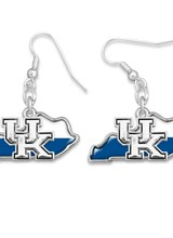 AccessHERize Two Tone UK State Earrings