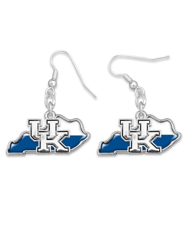 AccessHERize Two Tone UK State Earrings