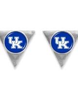 AccessHERize UK Wildcats Triangle Post Earrings