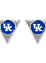 AccessHERize UK Wildcats Triangle Post Earrings