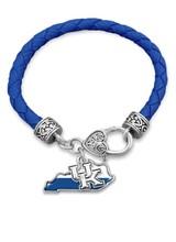 AccessHERize Braided UK State Bracelet