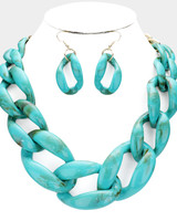 AccessHERize Chunky Link Statement Necklace
